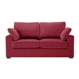 Canapea cu 2 locuri Jalouse Maison Serena, roșu
