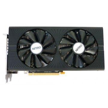 Placa video Sapphire Radeon RX 480 Nitro OC, 8GB GDDR5, HDMI, Display Port, DVI, 256 Biti, Second Hand