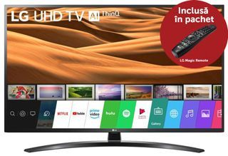 Televizor LED LG 109 cm (43″) 43UM7450PLA, Ultra HD 4K @ evomag.ro