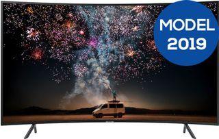 Televizor LED Samsung 139 cm (55″) UE55RU7372, Ultra HD 4K, Ecran Curbat @ evomag.ro