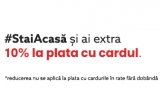 #StaiAcasa si ai 10% reducere la plata cu cardul @ watchshop.ro