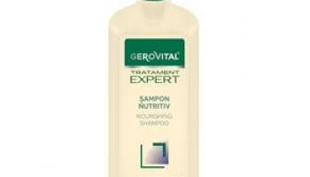 Șampon nutritiv Gerovital Tratament Expert @ farmec.ro