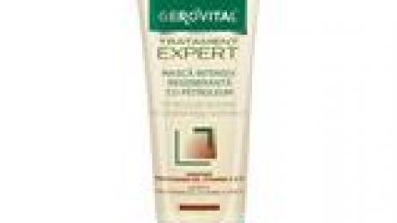 Șampon regenerant Gerovital Tratament Expert @ farmec.ro