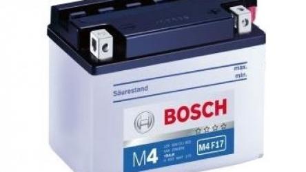 Baterie auto Bosch M4 4Ah 12V 0092M4F170
