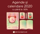 Agende si calendare 2020 cu pana la -50% @carturesti.ro