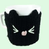 Cana cu hainuta crosetata pisica @ lavandiere.ro
