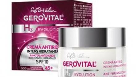 Cremă Antirid Intens Hidratantă SPF 10 @ farmec.ro