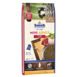 Hrana uscata pentru caini Bosch Mini Adult cu miel si orez 15 kg @animax.ro
