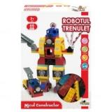 Jucarie de constructie Robotul Trenulet @ noriel.ro