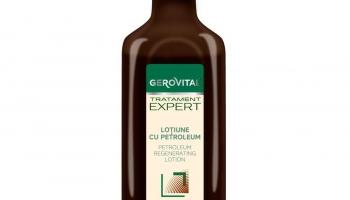 Loțiune cu petroleum Gerovital Tratament Expert @ farmec.ro