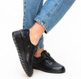 Pantofi Casual Lilay Negri @ depurtat.ro