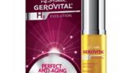 Ser Perfect Anti-age Gerovital H3 Evolution @ farmec.ro