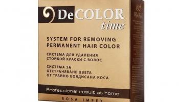 Sistem pentru indepartarea vopselei permanente – Color Time @ esteto.ro