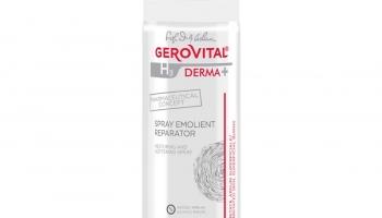 Spray Emolient Reparator Gerovital H3 Derma+ @ farmec.ro