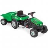 Tractor cu pedale si remorca Active Green @ nichiduta.ro